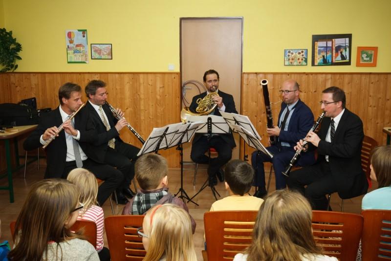 24.5.2019 – Výchovný koncert – Prague Philharmonia Wind Quintet